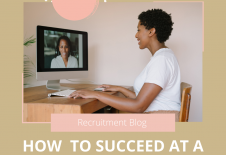 HOW TO SUCCEED IN A VIDEO JOB INTERVIEW