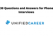 Image for post Unified Career 30 Questions and Answers for Phone Interviews