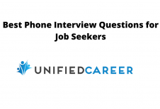 Image for post Best Phone Interview Questions for Job Seekers - Unified Career