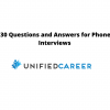 Unified Career 30 Questions and Answers for Phone Interviews