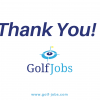 A thank you from Golf Jobs
