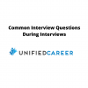 Common Interview Questions During Interviews