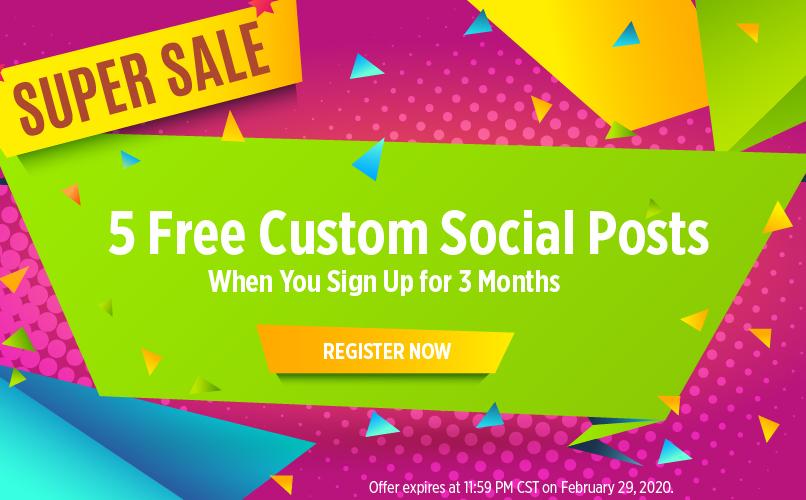 5 Customs Social posts