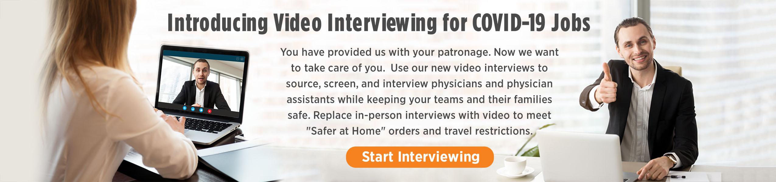 Introducing Video Interviews