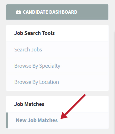candidate job matches