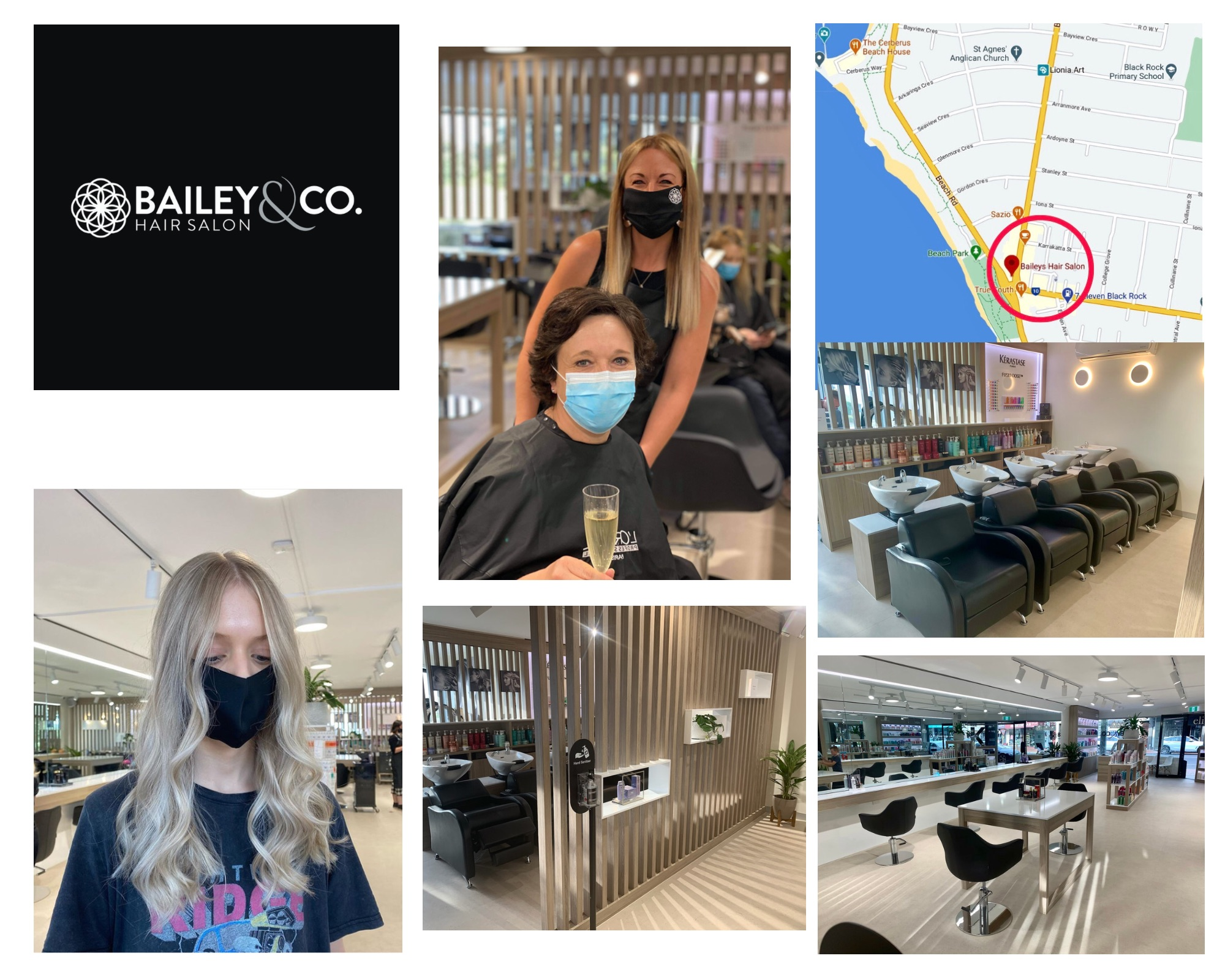 Bailey's collage