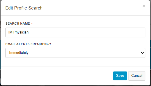 For Employers/Recruiters - Save Search 3