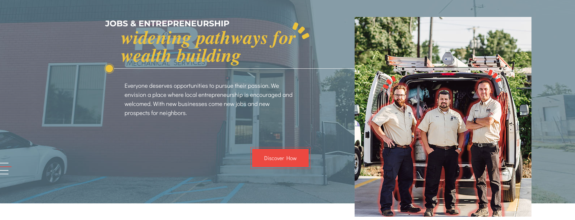 Amplify employment and entrepreneurship banner