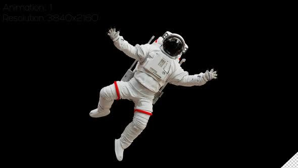 astronaut-in-white-space-suit-in-space