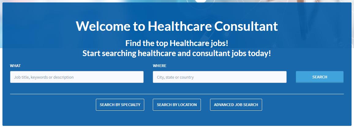 Niche-Healthcare-Job-Board-Search-Box